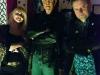 Jen Morriss, Michael Berryman & Stuart Morriss