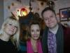 Stuart, Jen Morriss and Nicola Bryant
