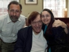 Richard with John and Zoe Gaffen
