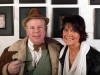 Michael Barber and Sally Geeson