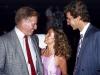 Belinda with Charleton Hesston and Peter Strauss