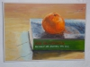 Orange 1 by Beverley Greig