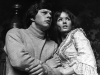 Deborah Watling and Frazer Hines