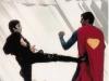 Ursa kicking Superman\'s arse Christopher Reeve as Superman