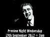 September Exhibition Poster 2012 - Tommy Cooper