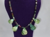 Gemstone & Shell Necklace