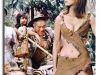 Valerie Leon and Sid James - Carry On Up The Jungle
