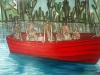 Afloat In A Big Red Boat - Wilfism